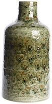 John Lewis Fusion Mottled Ceramic Vase, Green