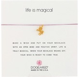 Dogeared Life Is Magical Unicorn Make A Wish Necklace