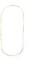 Diane von Furstenberg Adjustable Pyramid Beaded Necklace