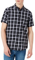 Topman Men's Classic Fit Check Shirt