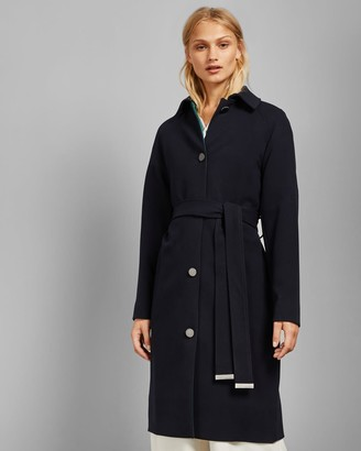 Ted Baker Single Breasted Long Coat