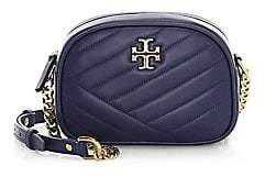 Tory Burch Women's Small Kira Chevron Leather Camera Bag