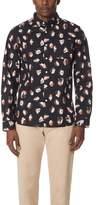 Saturdays NYC Crosby Spots Long Sleeve Shirt