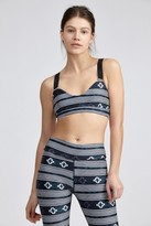 The Upside Berber Stripe Dance Crop Bra