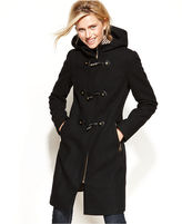 Calvin Klein Hooded Toggle Walker Coat