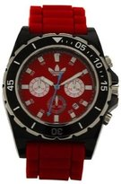 adidas Men's Stockholm ADH2836 Silicone Quartz Watch with Dial