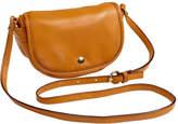 Clava Women's Page Leather Mini Crossbody