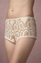 BHLDN Mosaic Lace Shorts