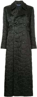 Comme Des Garçons Pre Owned Embroidered Star Padded Coat