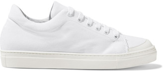 Iris & Ink Koru Frayed Canvas Sneakers