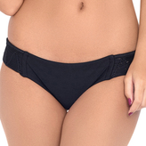 Luli Fama L478622 Weave Full Bottom in Black