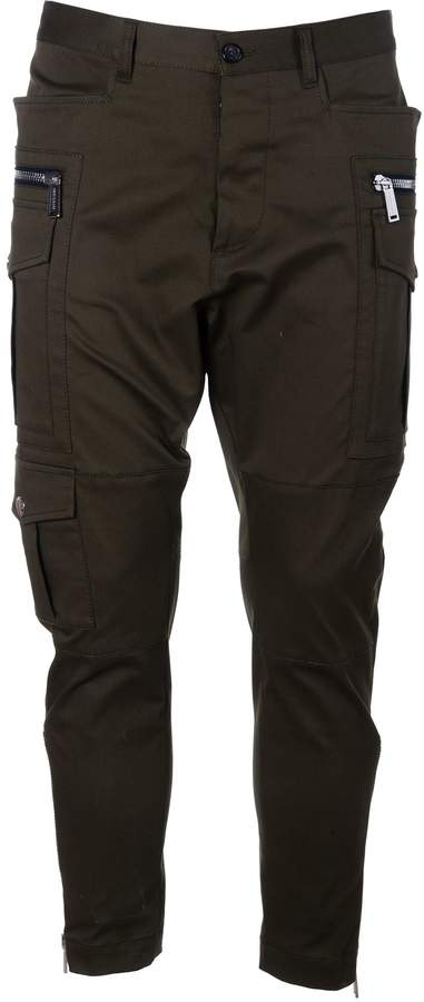 DSQUARED2 Fitted Cargo Trousers