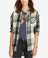 Denim & Supply Ralph Lauren Boyfriend Plaid Shirt