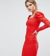 TFNC Lace Midi Dress