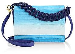 Nancy Gonzalez Women's Carrie Ombré Crocodile Clutch