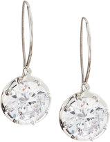 FANTASIA Solitaire Cubic Zirconia Wire Dangle & Drop Earrings