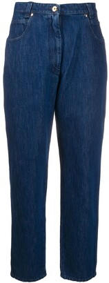 Patou High-Waisted Tapered Jeans