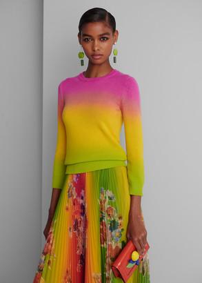 Ralph Lauren Dip-Dyed Cashmere Sweater