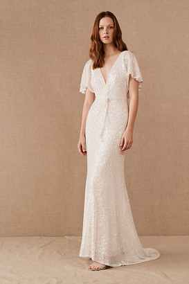 Jenny Yoo Lorimer Dress By in White Size 6