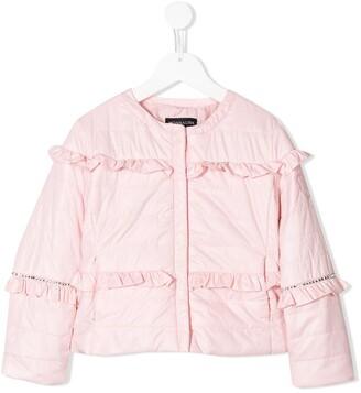 MonnaLisa Ruffle Padded Jacket