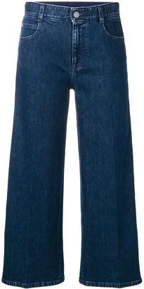 Stella McCartney SM cropped jeans