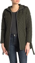 Vince Camuto Belted Quilted Jacket