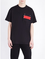 Givenchy Patch cotton-jersey t-shirt