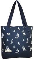 Polo Ralph Lauren Children's Windsor Tote Bag - Navy Blackwatch Sail Zipper