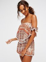 Free People Ruffle My Feather Romper