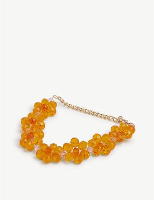 Stine Goya Blossom floral-shape glass bracelet
