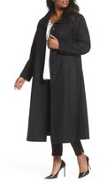 Gallery Plus Size Women's Full Length Wool Blend Coat