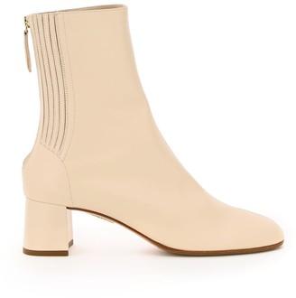 Aquazzura Saint Honore 50 Ankle Boots