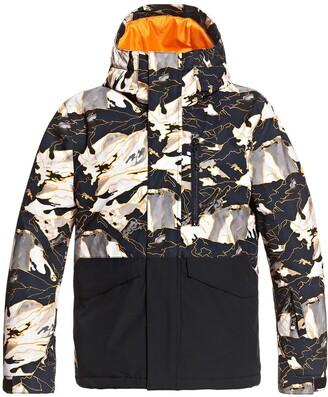 Quiksilver Kids' Mission Waterproof Hooded Snow Jacket
