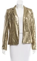 MICHAEL Michael Kors Michael by Michael Kors Metallic Sequined Blazer
