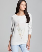 Wildfox Couture Pullover - Rainbow Pony