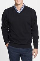 Cutter & Buck Men's Big & Tall 'Broadview' V-Neck Sweater