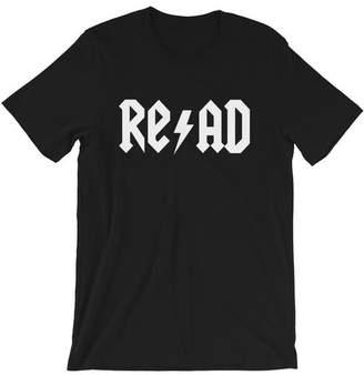 Rock, Roll, and Read Teacher Tee