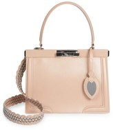Alaia Small Cecile Leather Satchel