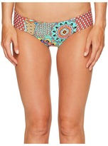 Luli Fama Mariposita Caribena Tab Side Reversible Full Bottom Women's Swimwear