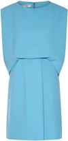 Balenciaga Drape-front crepe dress