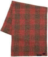 Mp Massimo Piombo Virgin Wool Prince Of Wales Scarf