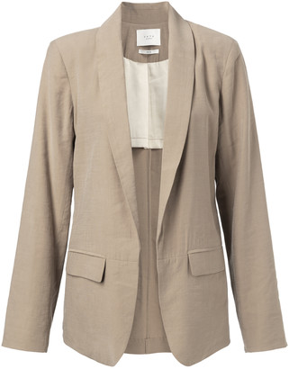 Ya-Ya Blazer with belted detail - viscose | dark sand | 40 - Dark sand