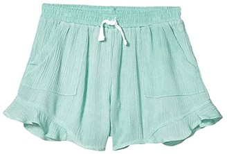 Tiny Whales Talum Shorts (Toddler/Little Kids/Big Kids) (Seafoam) Girl's Shorts