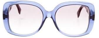 Fendi Oversize Tinted Sunglasses