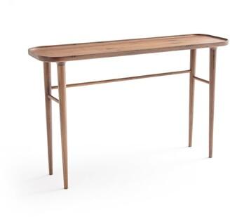 Am.pm. Magosia Solid Walnut Console Table