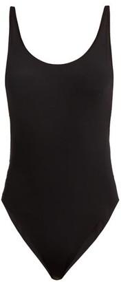 Haight Scoop-back Swimsuit - Womens - Black