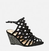 Avenue Hali Caged Printed Wedge