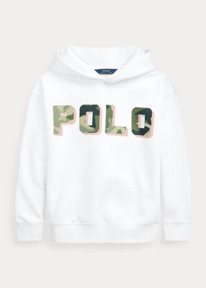 Ralph Lauren Logo Cotton-Blend-Fleece Hoodie