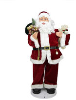 Asstd National Brand 4' Deluxe Animated & Musical Dancing Santa Claus