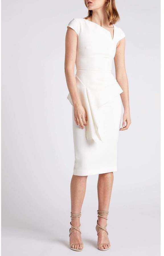 1ecb7c3d869 Roland Mouret White Wool Dresses - ShopStyle